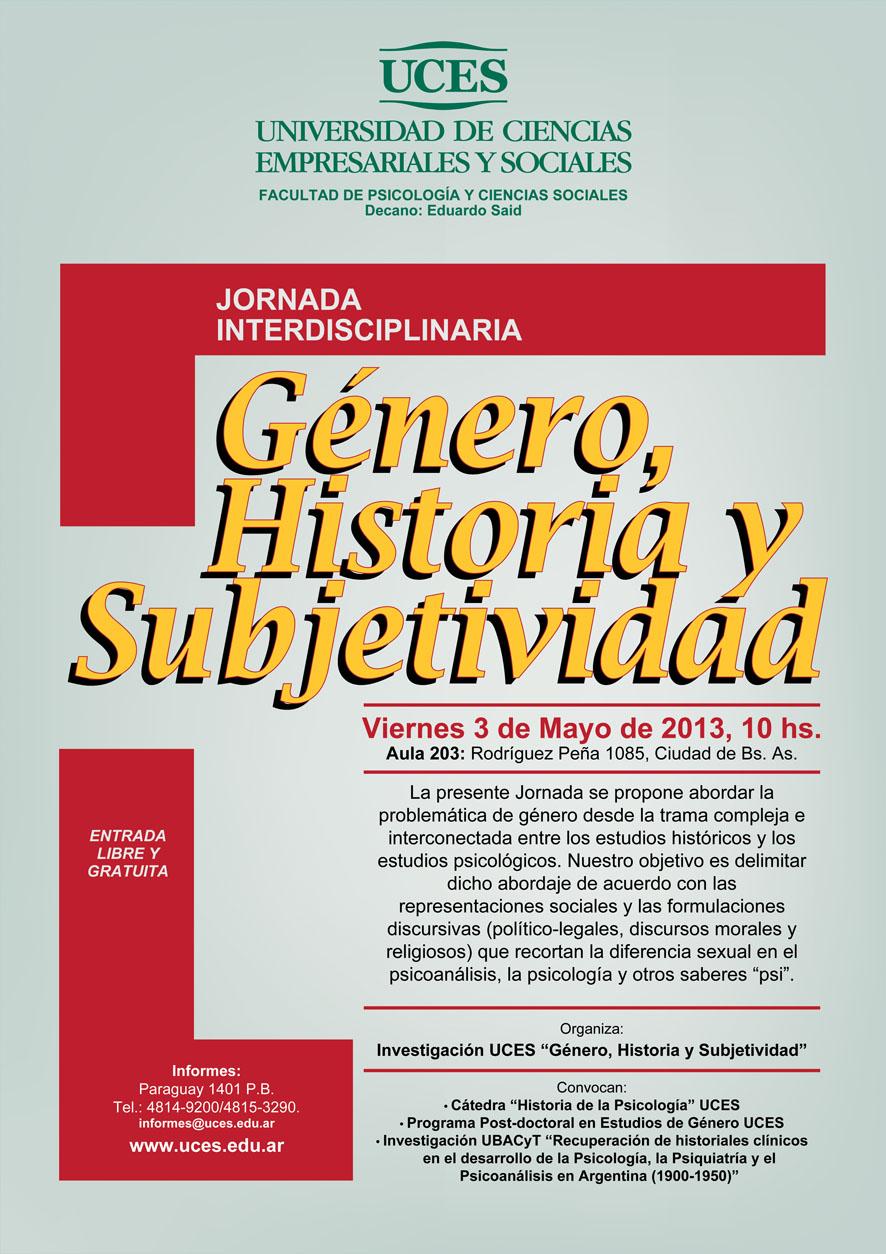 2. AFICHETA JORNADA GENERO historia y subjet (2)